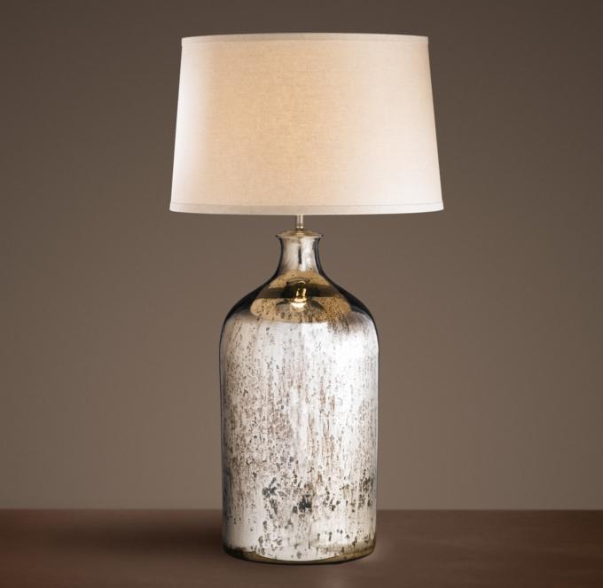 Mercury Glass Table Lamps