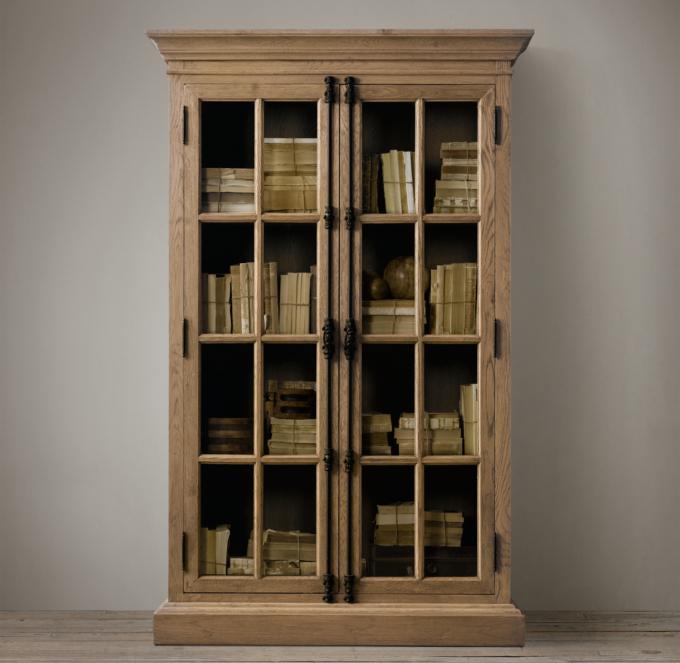 French Casement DoubleDoor Cabinet