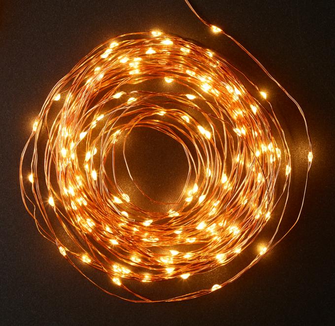 starry string lights copper