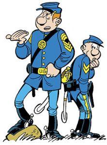 Le Tuniques Bleues   North & South