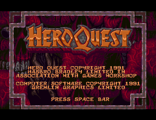 HeroQuest | Gremlin Graphics 1992