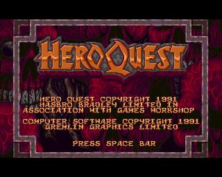 HeroQuest | Gremlin Graphics 1992
