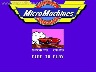 Micro Machines | Amiga 1993