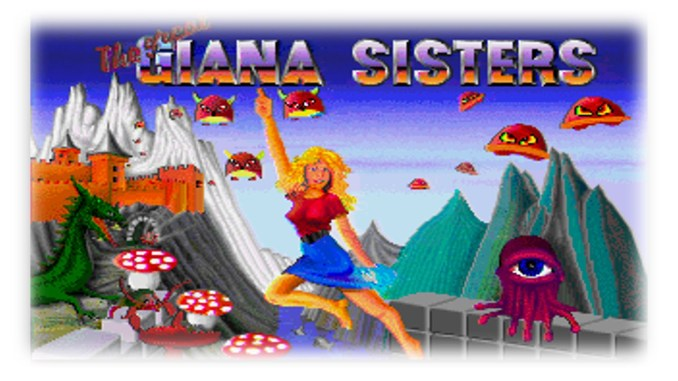 The Great Giana Sisters | Commodore 64 1987