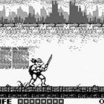 Teenage Mutant Ninja Turtles, TMNT, Fall of the Foot Clan for Gameboy (1990)