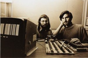 Woz and Jobs decided the Apple II would load their OS from the circuit board, instead of needing to be loaded manually. It would also have a fanless power