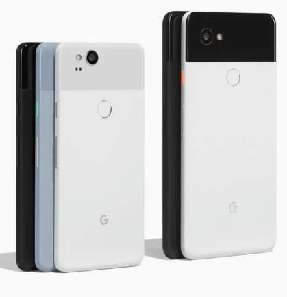 Google Pixel 2 și 2 XL - culori