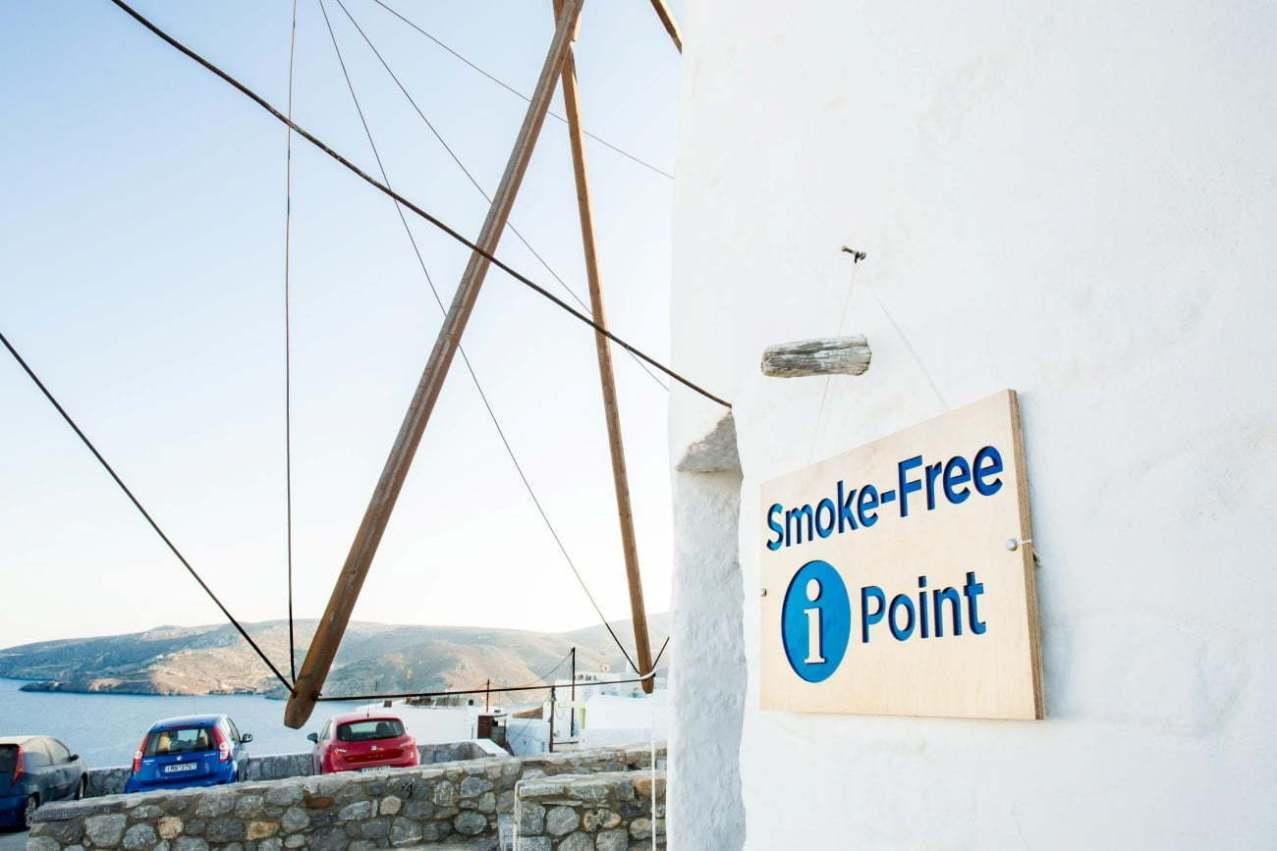 Centrul de informații Smoke-Free din Astypalea