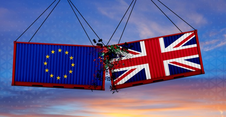 Brexit-comert