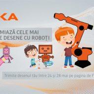 KUKA premiază cele mai frumoase desene cu roboți făcute de copii