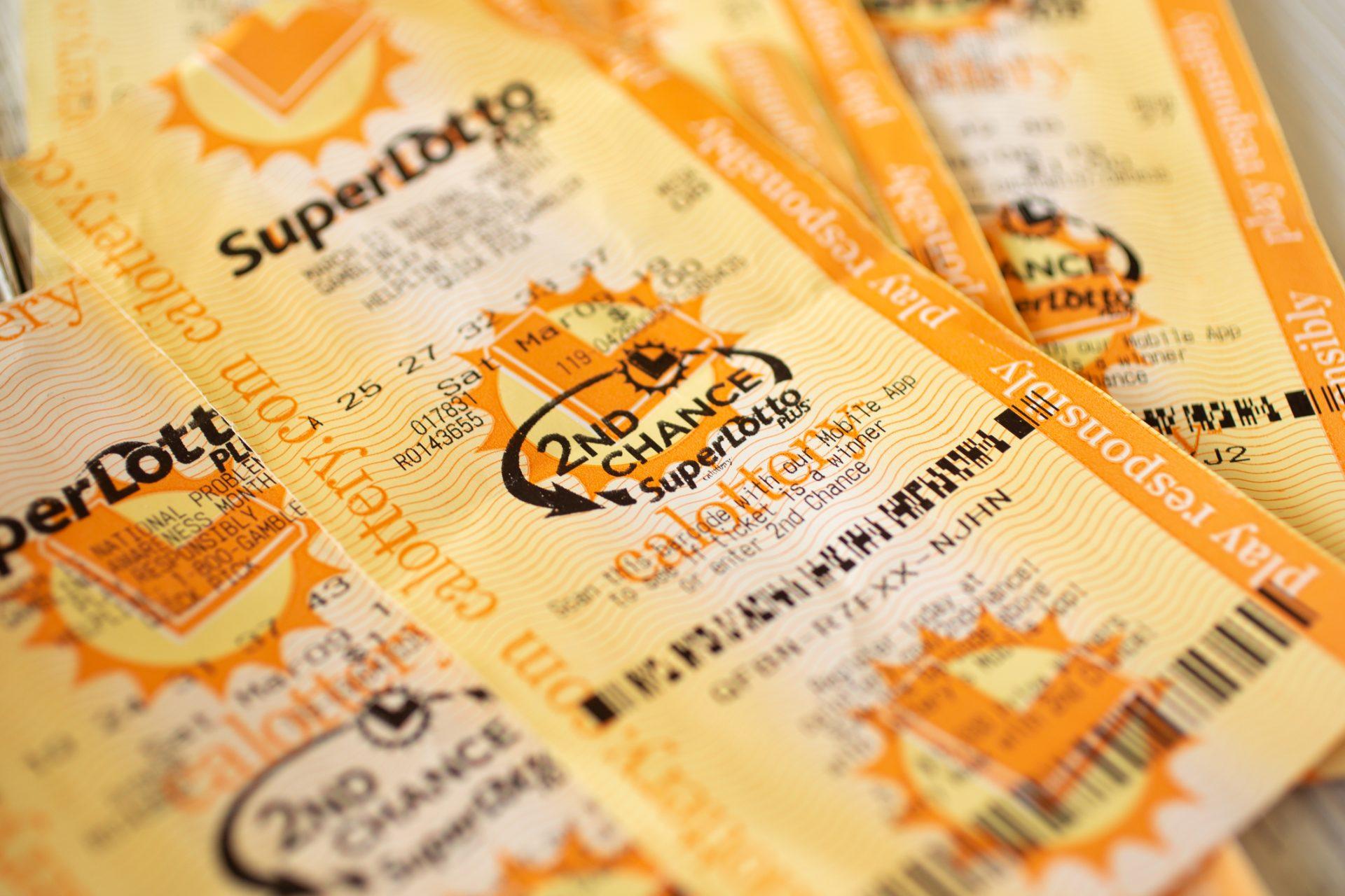 O femeie din California - loterie