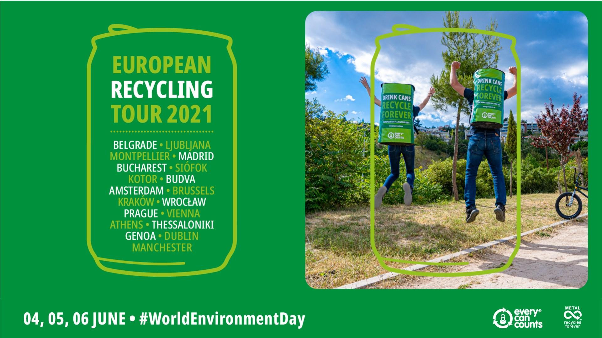 European Recycling Tour - ziua mondiala a mediului