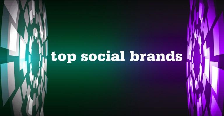 Top Social Brands 2021