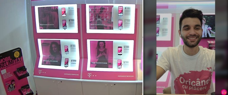 Live Shop-Telekom Romania