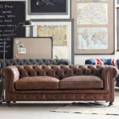 Kensington Leather Sofa Restoration Hardware 3pc Slipcovers Set Couch Loveseat Chair Covers Mini Next