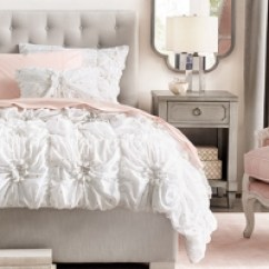 Bedroom Chair With Skirt Small Chairs Arms Girl Collections Rh Baby Child Edie Tufted Bed