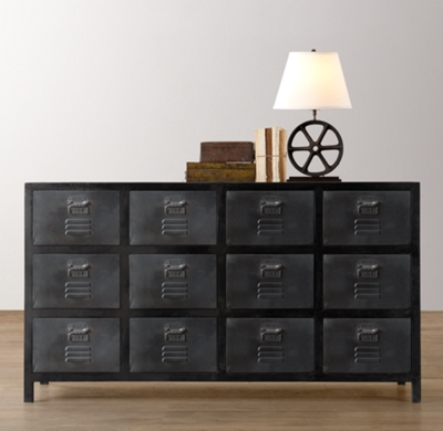 Vintage Locker Wide Dresser