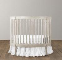 Ellery Round Crib & Mattress