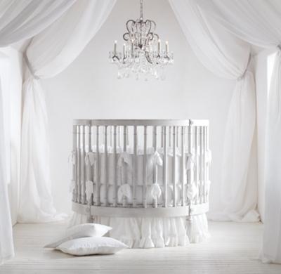 Ellery Round Crib  Mattress