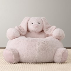 Child Bean Bag Chair Personalized Chairs With Cup Holders Cuddle Plush Bunny