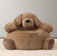 Cuddle Plush Dog Chair