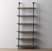 Industrial Pipe Shelving