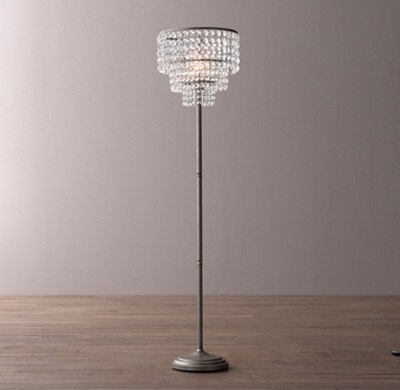 Soho Crystal Floor Lamp