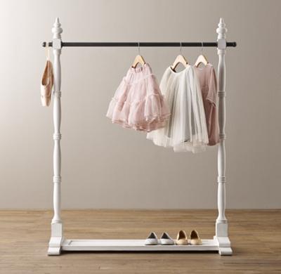 mini wardrobe rack