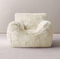 Luxe Faux Fur Bean Bag Chair Cover