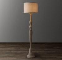 Ambrose Floor Lamp Base - Weathered