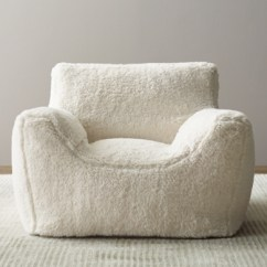 Restoration Hardware Beanbag Chair Stackable Dining Room Chairs Bean Bag Rh Baby Child Luxe Sherpa