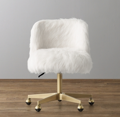 Furry Office Chair