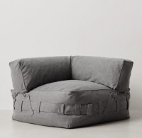Cargo Lounge Corner Chair - Grey