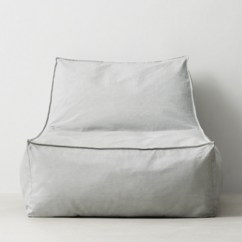Restoration Hardware Beanbag Chair Turquoise Office Bean Bags Poufs Rh Teen Distressed Canvas Bag Lounger Grey