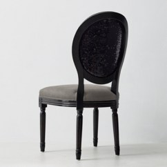 French Velvet Chair Chairs With Casters Vintage Sequin Desk Black Rhtn Prod103567 E57225153 Tqb Pd Illum 0 Wid 650