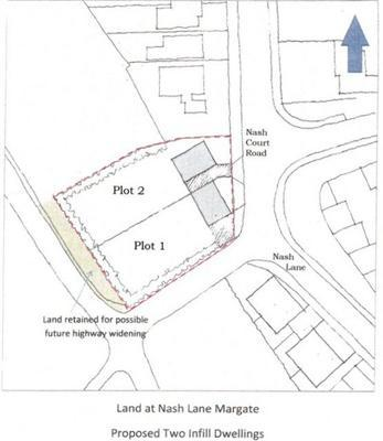 Land for sale in Nash Court Road, Margate, Kent, CT9