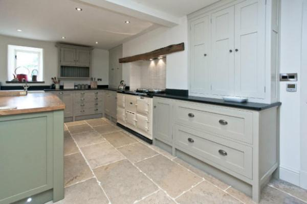 stone blue farrow and ball kitchens Modern Country Style: What Makes A Modern Country Kitchen?