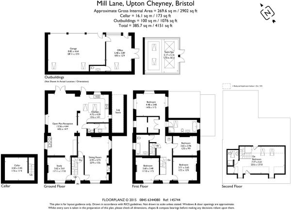 5 bedroom detached house for sale in Mill Lane, Upton