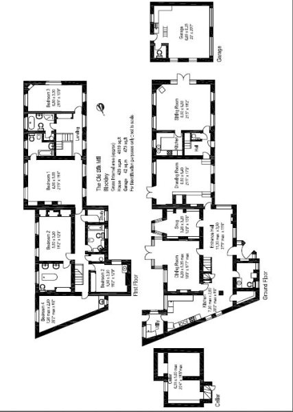 5 bedroom detached house for sale in Blockley, Moreton-In