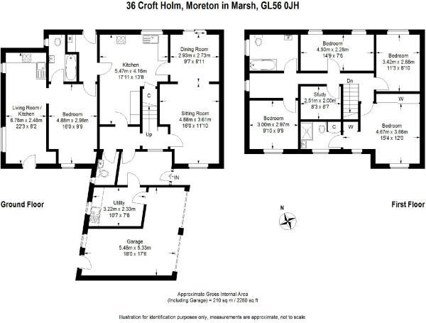5 bedroom detached house for sale in Croft Holm, MORETON