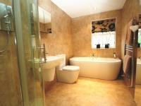 Beige Olive Family Bathroom Design Ideas, Photos ...