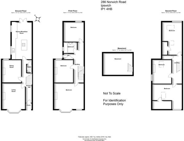 6 bedroom semi-detached house for sale in Norwich Road