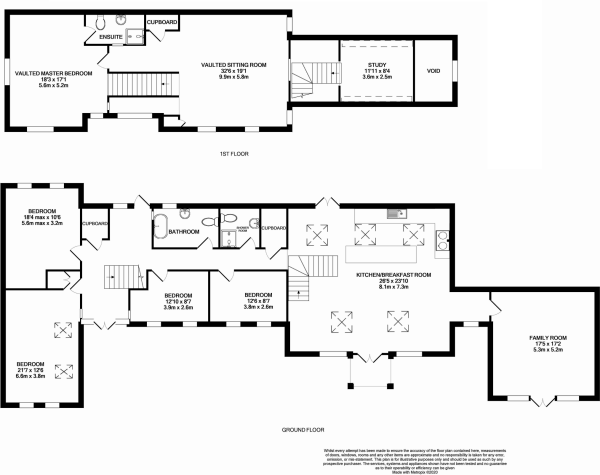 5 bedroom barn conversion for sale in Heath Road, Banham