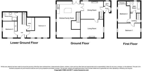 4 bedroom detached house for sale in Brook Lane, Golcar