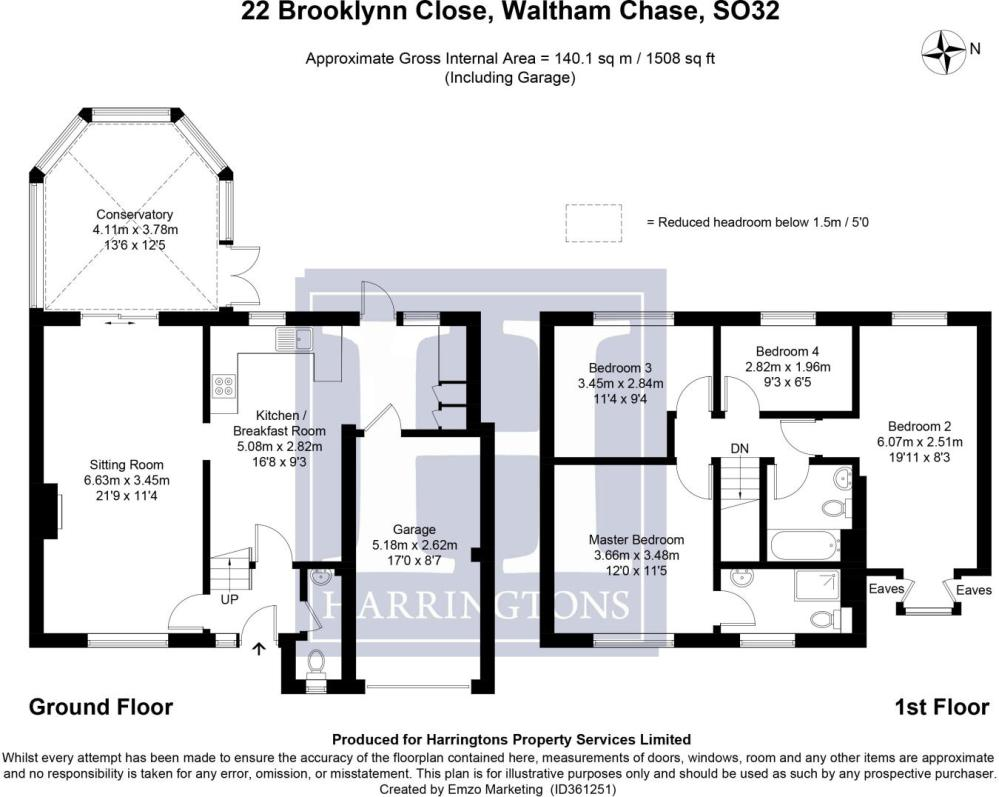 medium resolution of 4 bedroom detached house for sale in brooklynn close waltham chase so32