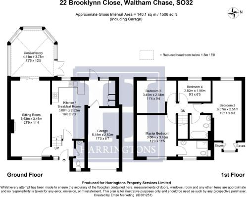 small resolution of 4 bedroom detached house for sale in brooklynn close waltham chase so32