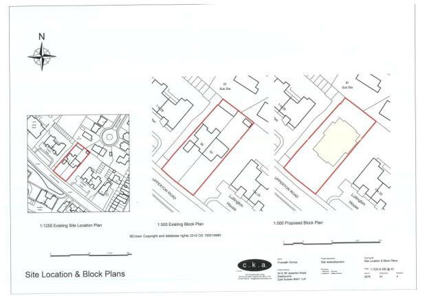 Land for sale in Upperton Road, Eastbourne, BN21