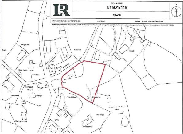 Plot for sale in Building Plots, The Woodland, Hyssington