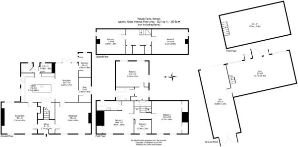 6 bedroom farm house for sale in Kenton, Nr Debenham, IP14