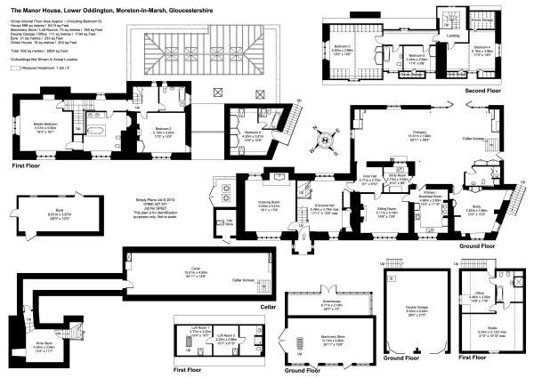 6 bedroom detached house for sale in Lower Oddington